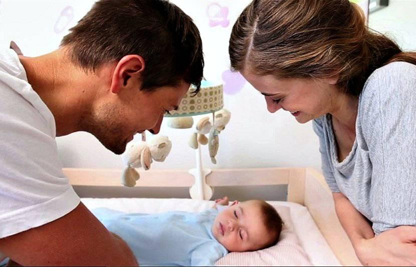 Контакт мамы и новорожденного