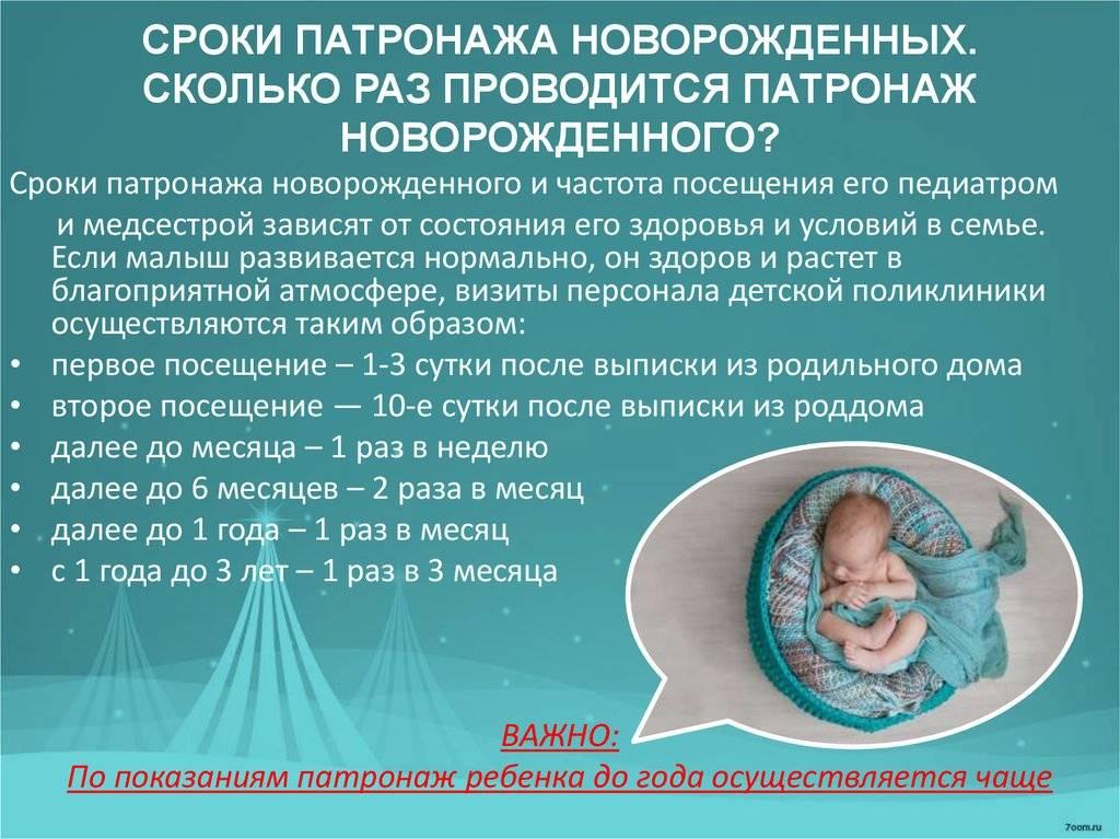 Патронажная сестра для новорожденных - помощь в первый месяц жизни малыша