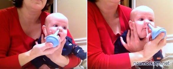 Как правильно промывать нос детям