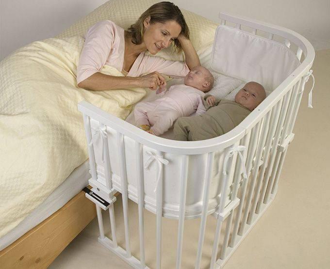Кроватки для двойни – какие бывают и какую лучше выбрать