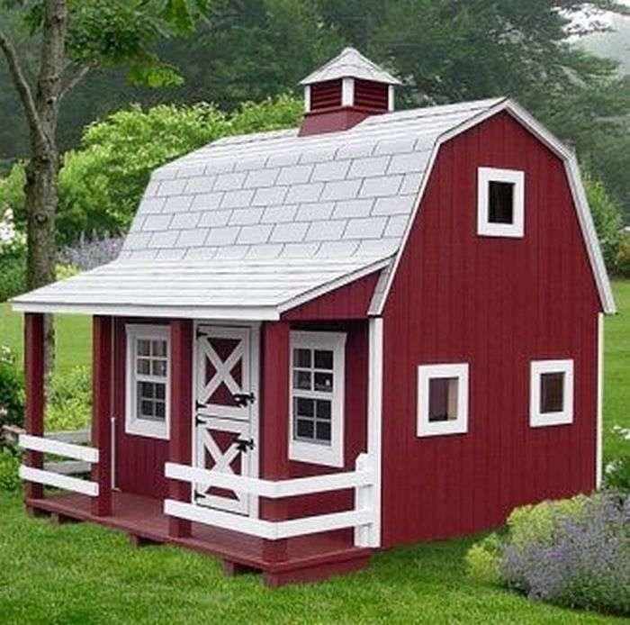 Игровые домики для детей: сказочное детство (фото)   дом мечты