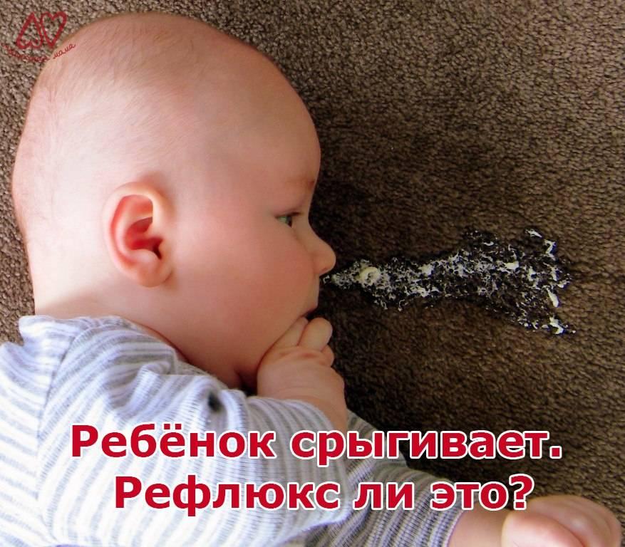 Почему новорожденный ребенок икает после кормления грудью?