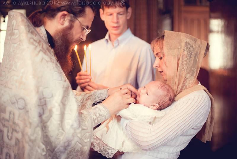 Особенности и правила обряда крещения ребенка
