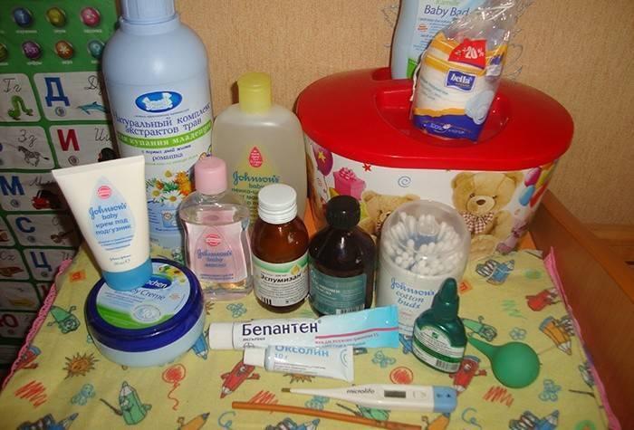 Лекарства для новорожденного: список самого необходимого в первой аптечке малыша