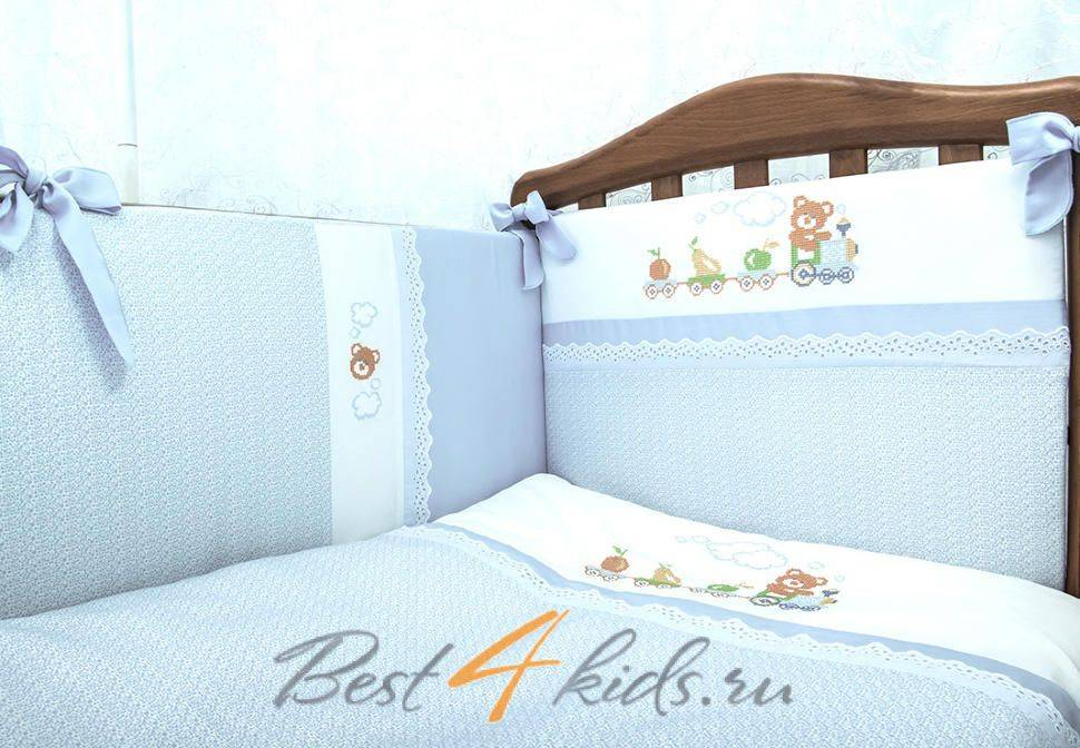 Как выбрать или сшить постельное бельё для новорождённых в кроватку