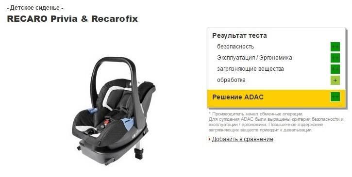 Автокресло recaro: детское автомобильное кресло young sport hero и monza nova 2 seatfix, отзывы