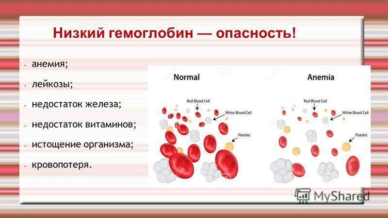 Гемоглобин: норма у детей по возрасту