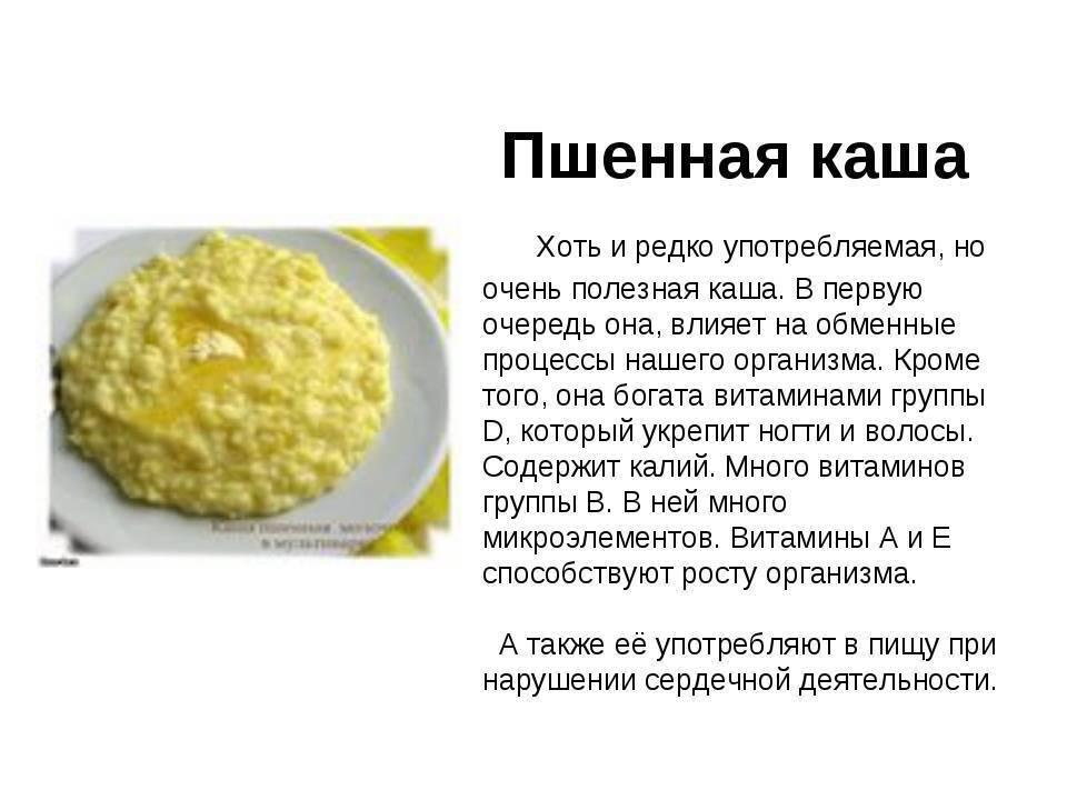 Пшеничная каша для детей: с какого возраста можно давать блюдо грудничку и может ли быть на него аллергия, рецепт как в детском саду для ребенка 1 года