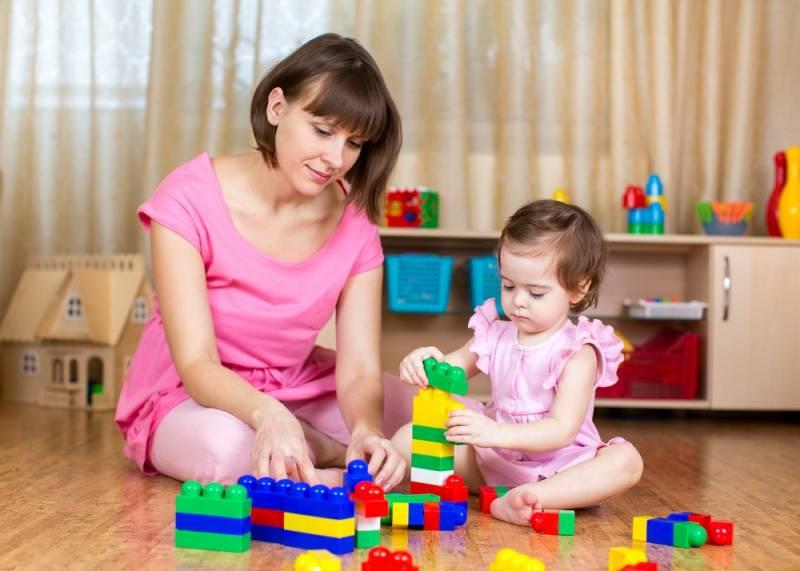 Во что играть с ребенком 3-х лет