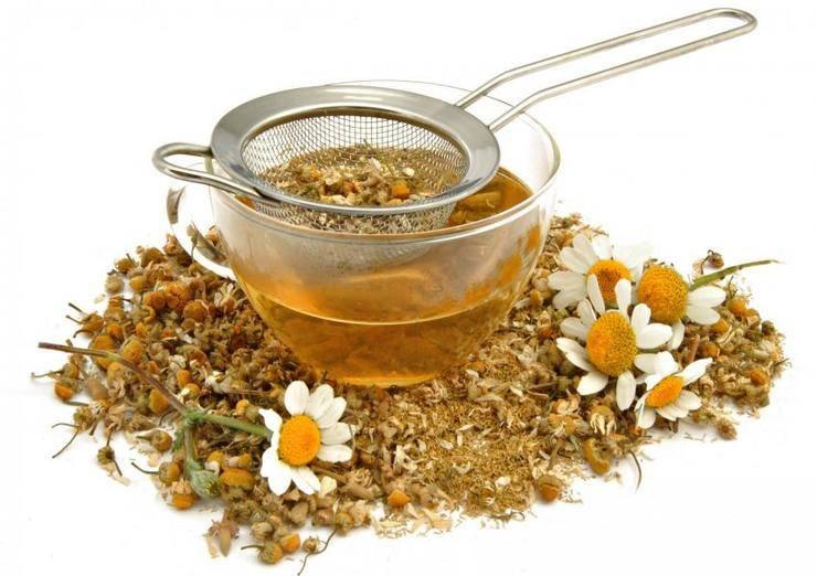 Ромашковый чай для грудничка: эффективное применение