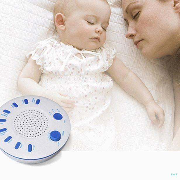 О белом шуме для новорожденных детей