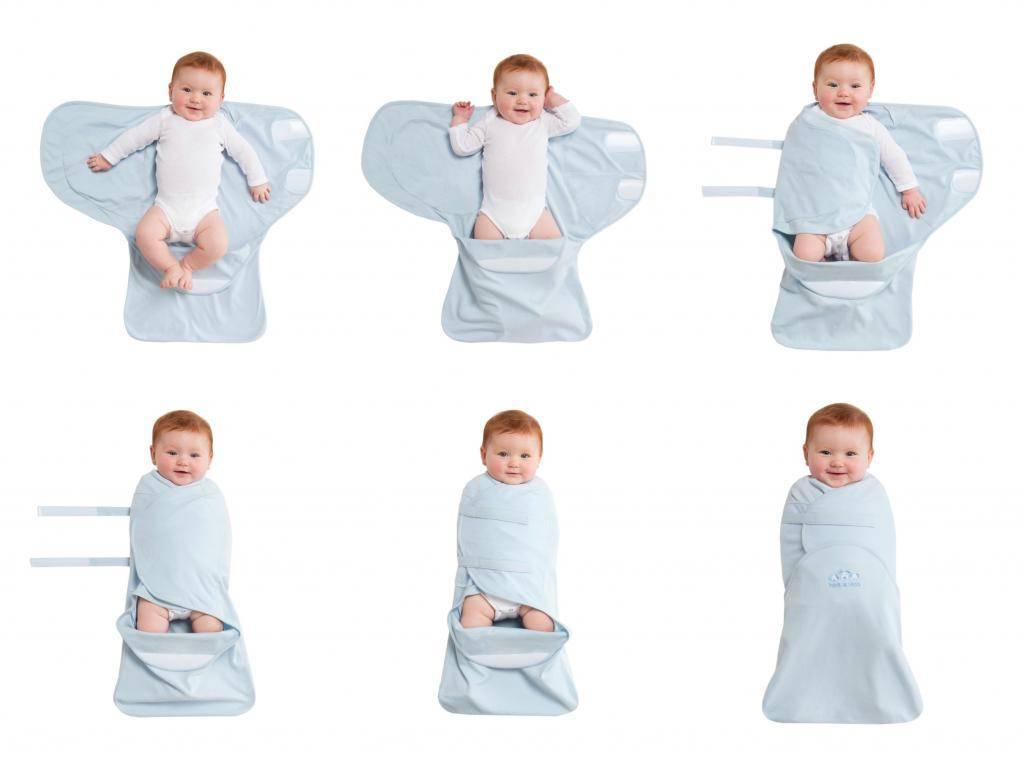 Возраст до которого пеленают ребенка на ночь с руками: до скольки месяцев нужно