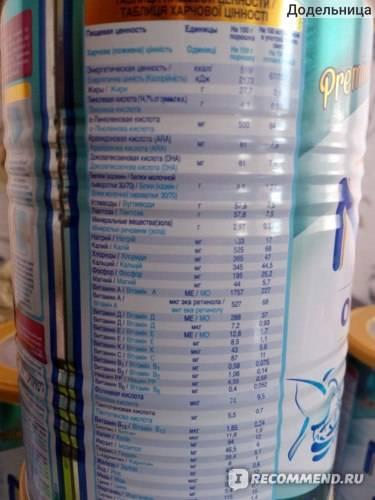 Сухая молочная смесь «нан оптипро» с рождения: состав, инструкция по применению