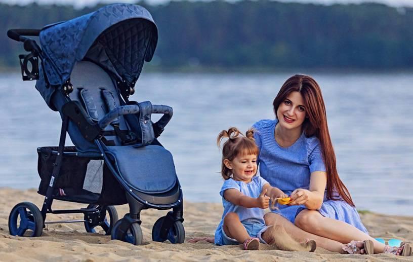 Летние прогулочные модели колясок для новорожденных