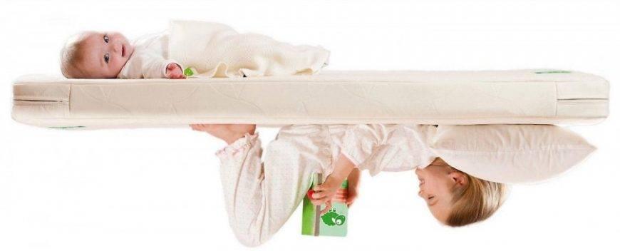 Как выбрать детский матрас: размер, материал (фото)