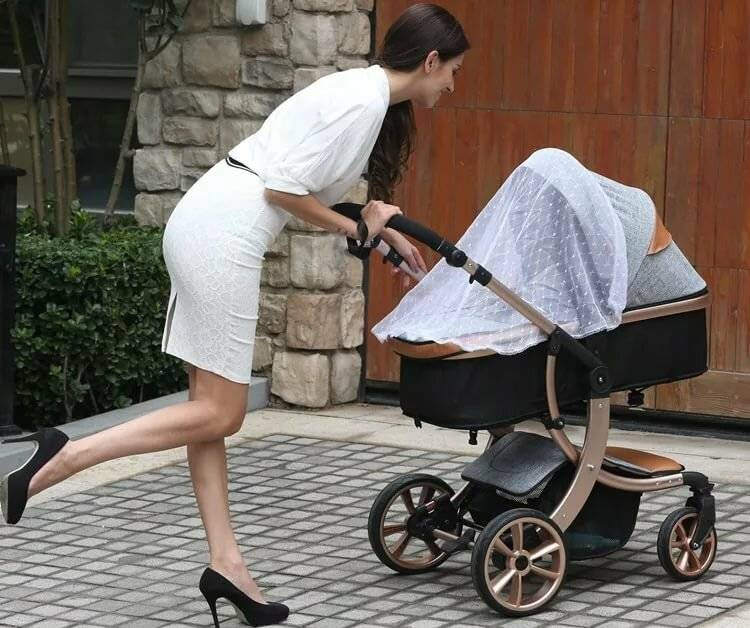 Как выбрать коляску для новорождённого правильно весной, летом и зимой (с видео)