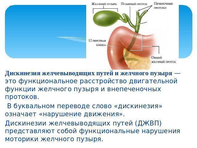 Дисфункция билиарного тракта