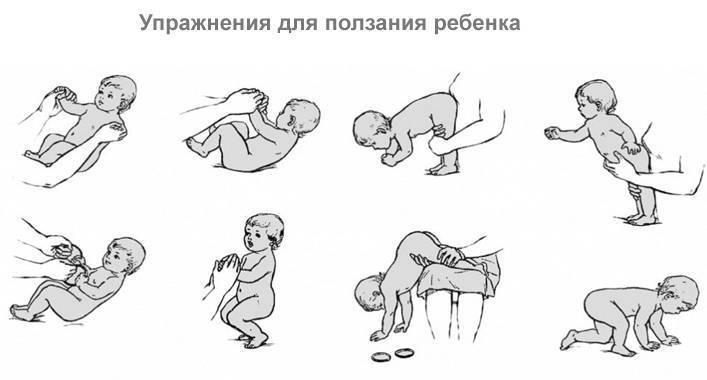 Как научить грудничка держать голову: упражнения для помощи младенцу