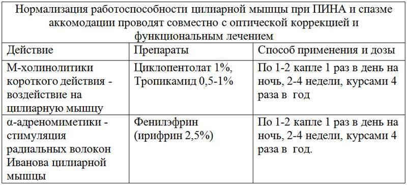 Как отличить спазм аккомодации от близорукости - энциклопедия ochkov.net