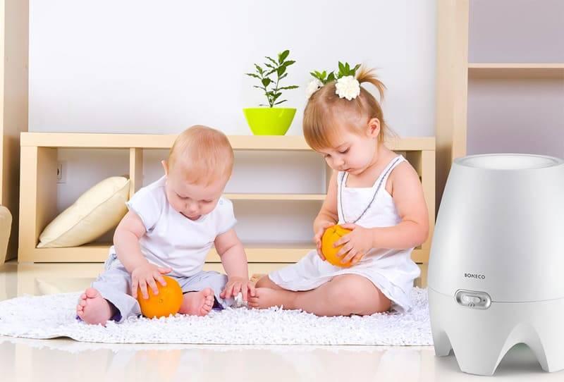 Увлажнитель воздуха: как выбрать для ребенка