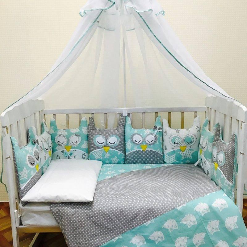 Постельное бельё для новорожденных в кроватку: размеры, советы по выбору   для детской   mattrasik.ru