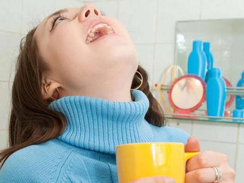 Йодинол для полоскания горла
