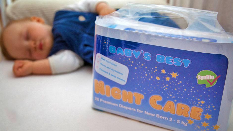 Как отучить ребенка от памперса ночью
