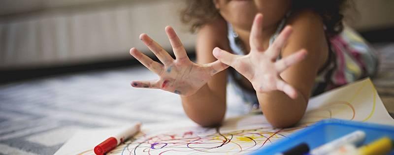 Как отмыть фломастер и перманентный маркер с кожи ребёнка