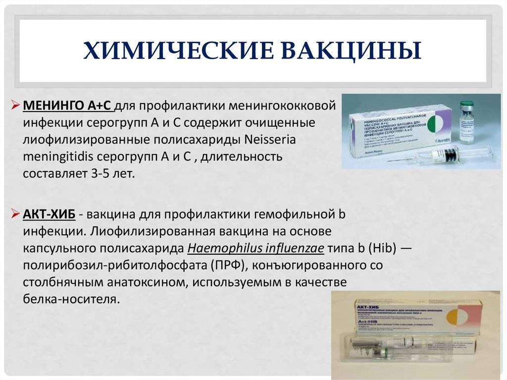 Вакцинация против менингококковой инфекции