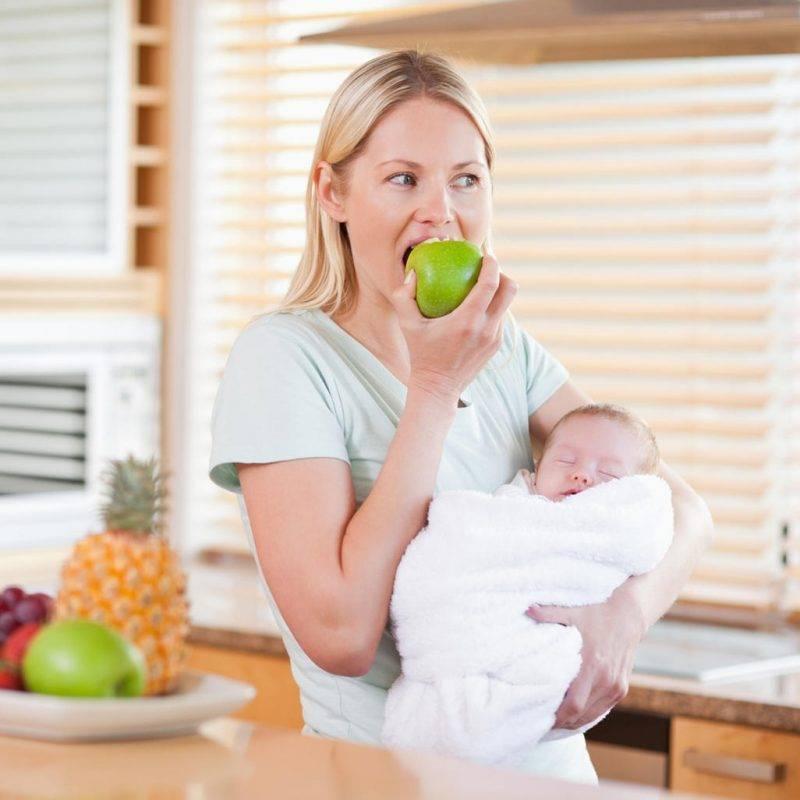 Что из сладкого можно есть кормящей маме