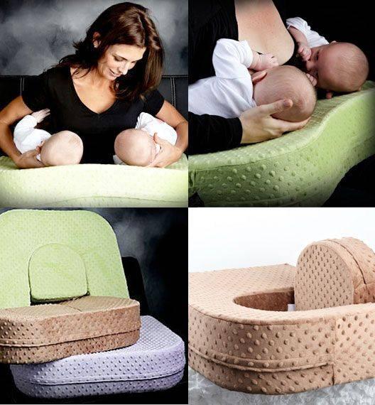 Подушка для кормления двойни или близнецов: как выбрать или сшить, как пользоваться
