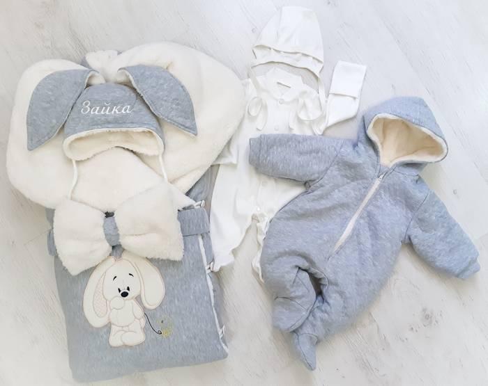 Что нужно для выписки из роддома зимой: одеяло, конверт и другая одежда для новорожденного