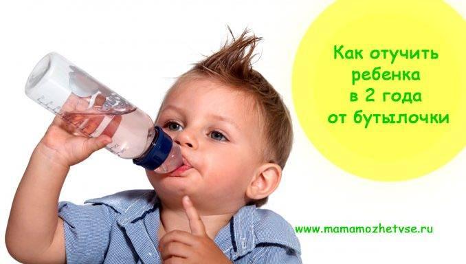 Как быстро отучить ребенка от бутылочки: когда начинать