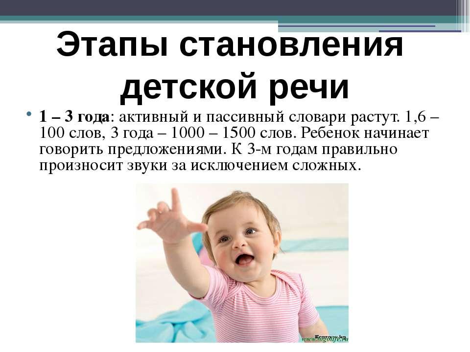 Когда ребенок начинает говорить: возраст первых слов и осознанных предложений