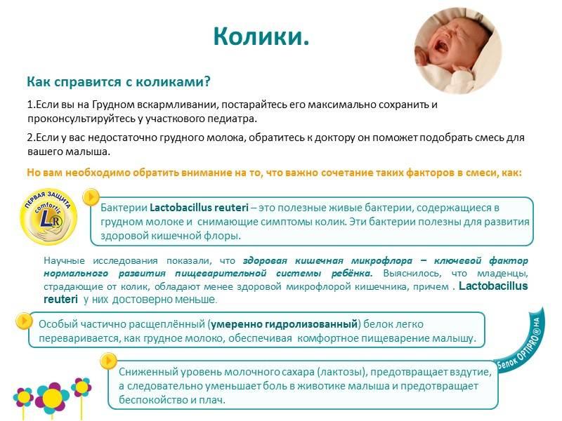 Как вылечить кишечные колики у новорожденного ребенка?