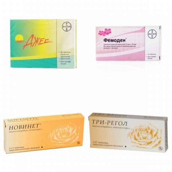Лучшие противозачаточные таблетки, топ-9 рейтинг хороших таблеток