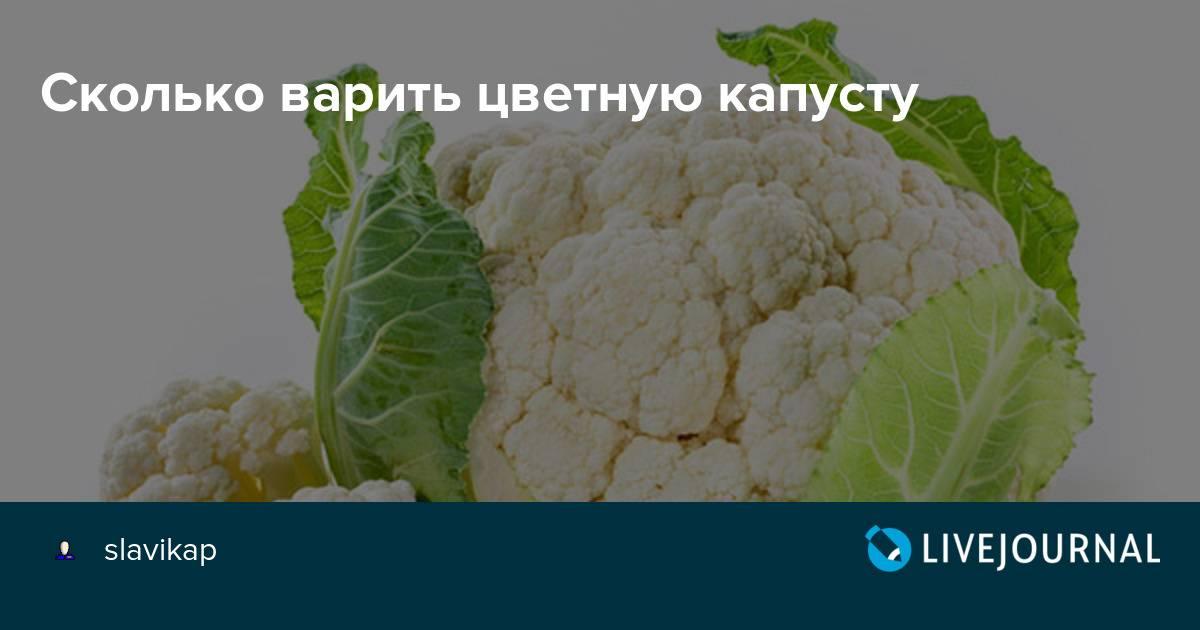 Как сохранить всю пользу цветной капусты и брокколи: сколько их нужно варить в замороженном и свежем виде?