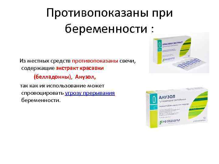Аптечка будущей мамы