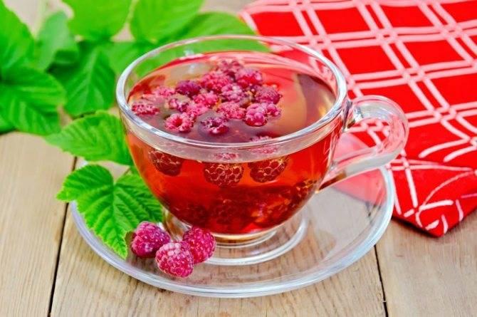 Чай с малиной при грудном вскармливании - мамины новости