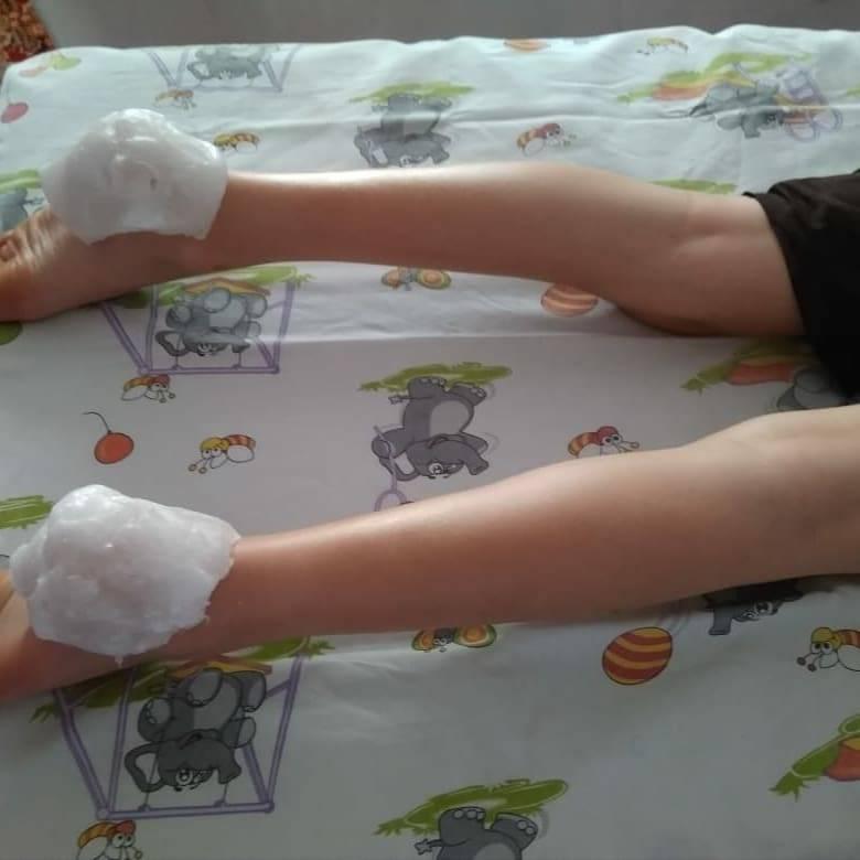 Парафиновые сапожки для детей в домашних условиях