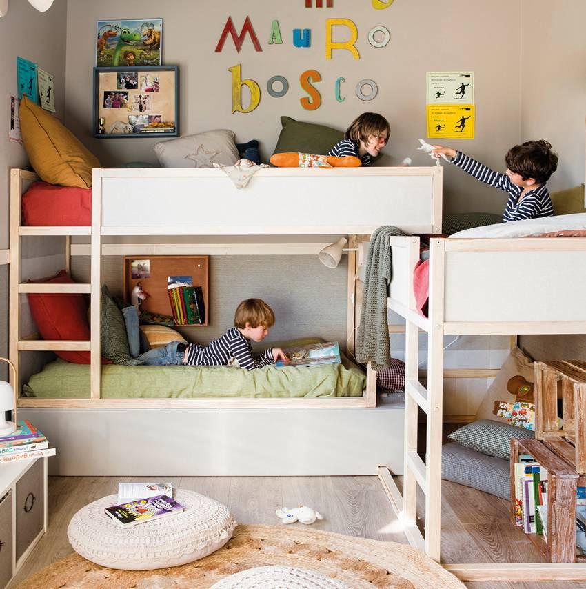 Как обустроить общую комнату для 3 девочек