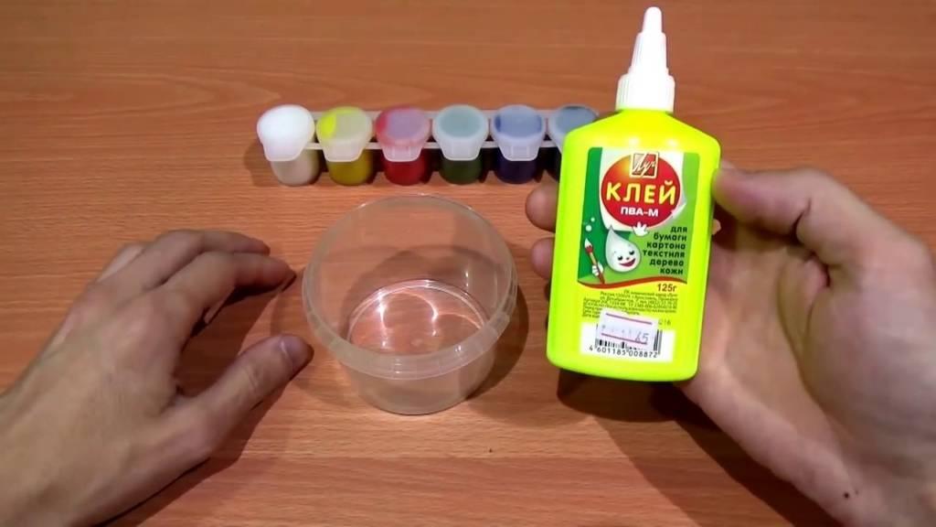 Как сделать лизуна в домашних условиях: рецепты с фото и видео пошагово