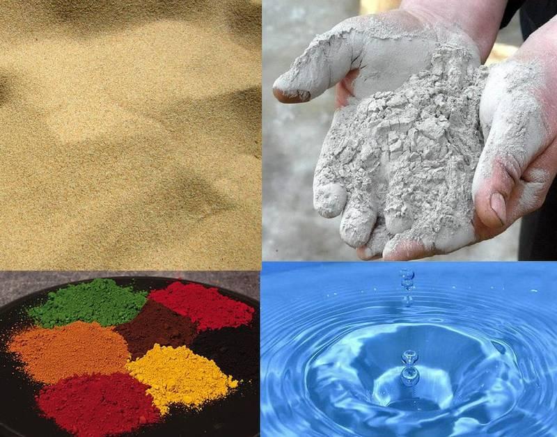 Как сделать цветной песок в домашних условиях своими руками и чем покрасить состав?
