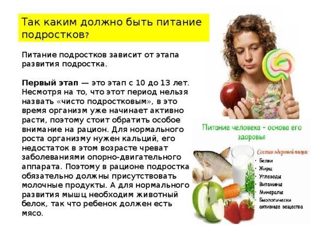 Сбалансированная диета: меню на каждый день   food and health
