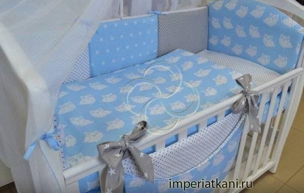 Стандартные размеры комплектов детского постельного белья в кроватку: от новорожденных до подростков