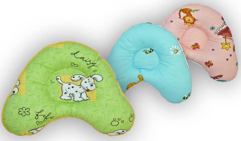 Ортопедическая подушка для новорожденного при кривошее
