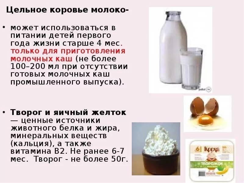 Возраст грудничка, когда можно давать козье молоко, как его разбавлять