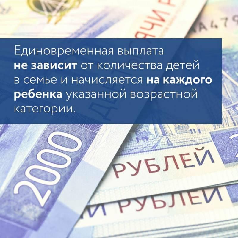 Путинские выплаты от 3 до 7 лет