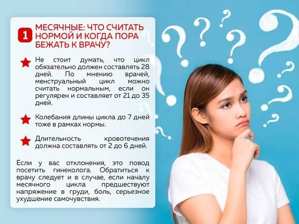 Менструальный цикл подростка: что является нормой и когда идти к врачу