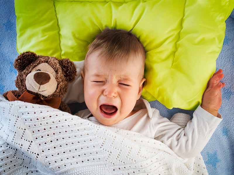 Почему ребенок плачет во сне? | компетентно о здоровье на ilive